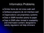 informatics problems