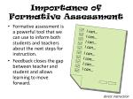 importance of formative assessment