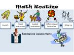 math routine