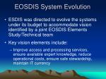 eosdis system evolution