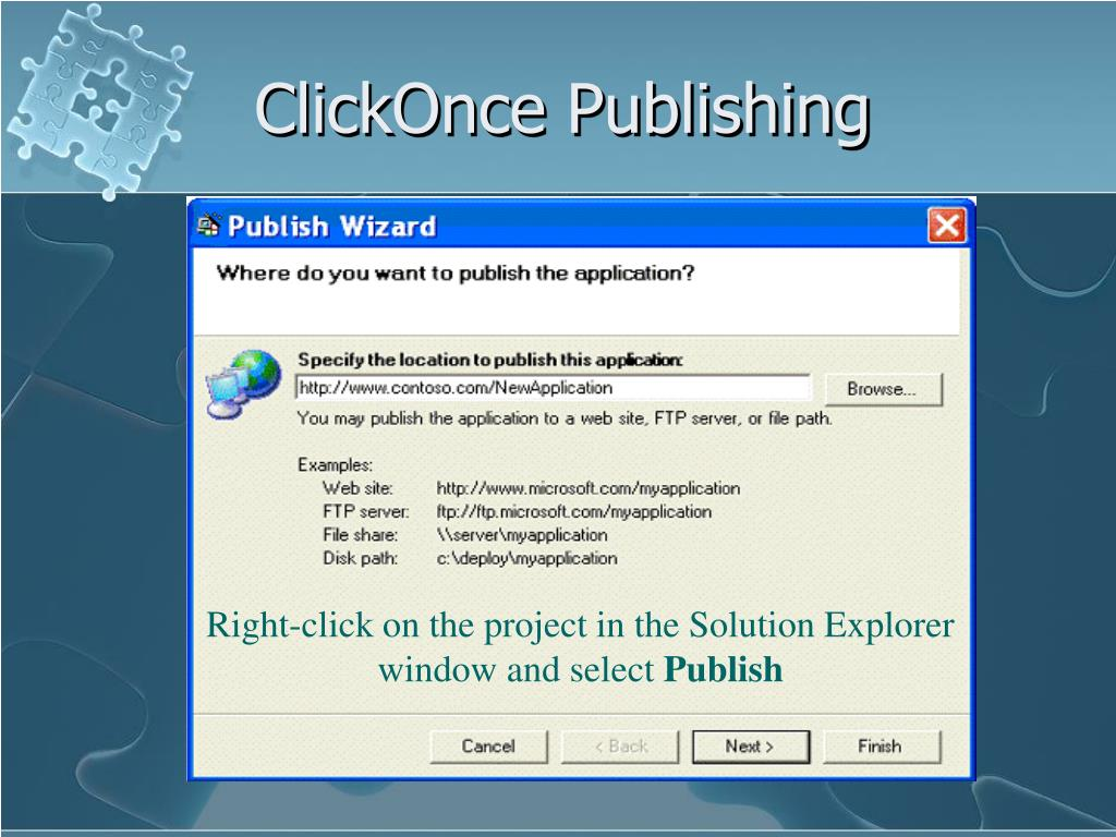 ClickOnce Publishing