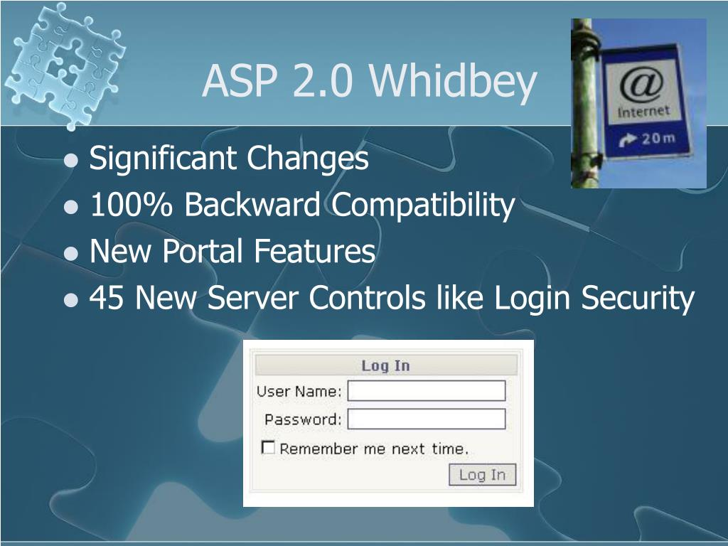ASP 2.0 Whidbey