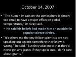 october 14 20072