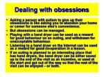 dealing with obsessions