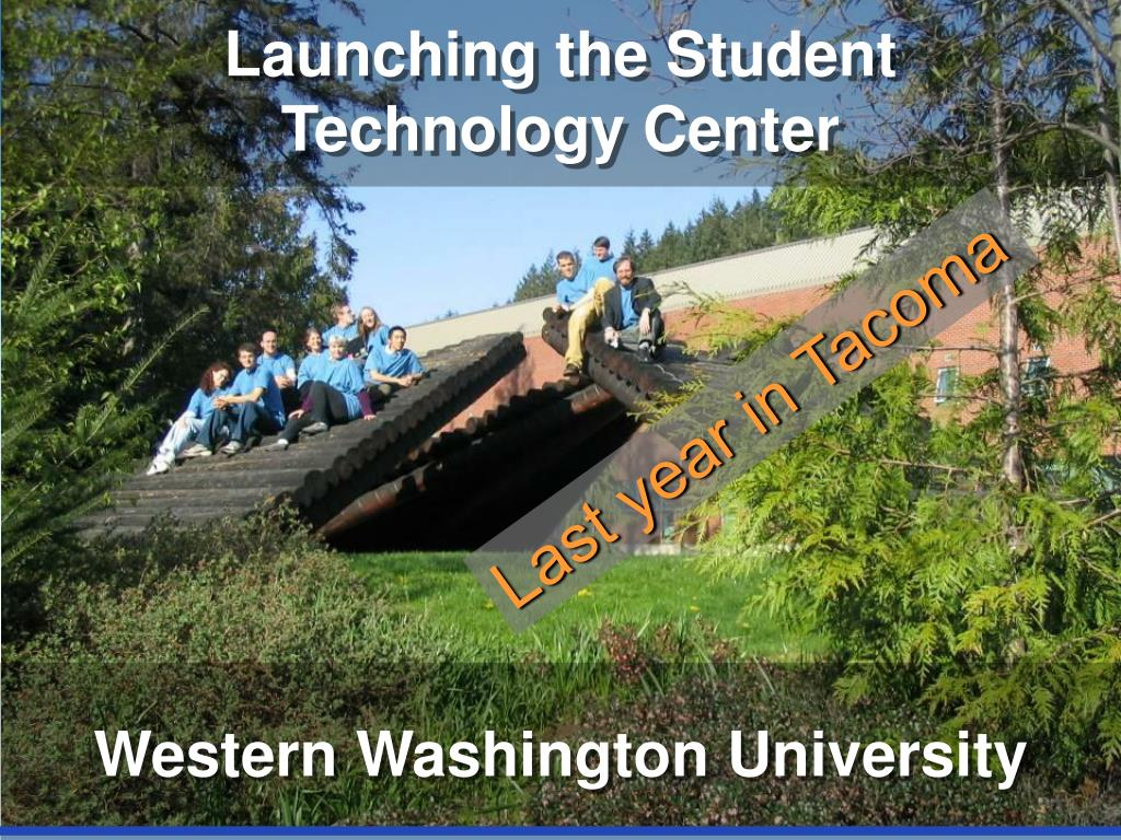 Launching the Student Technology Center