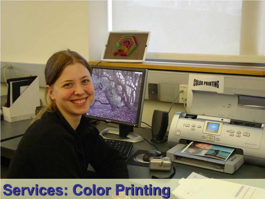 Services: Color Printing