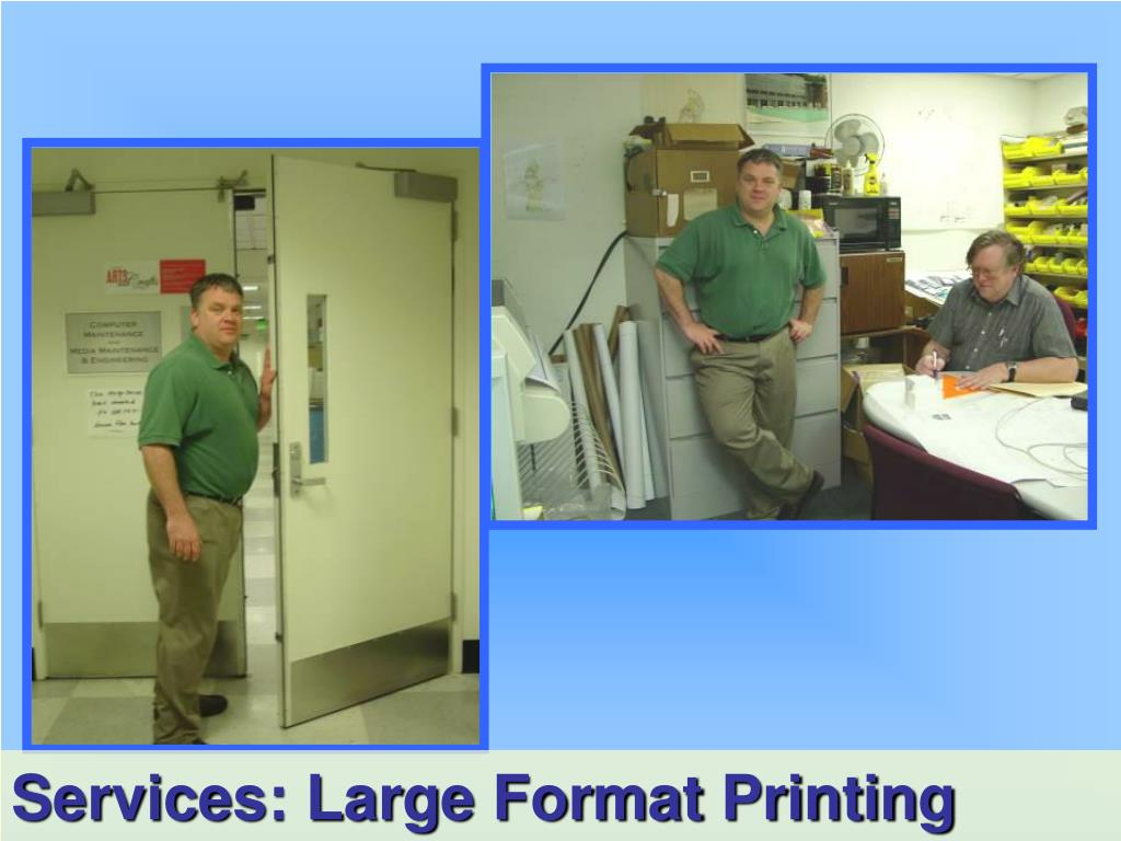 Services: Large Format Printing
