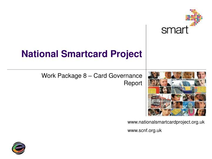 national smartcard project n.