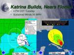 katrina builds nears florida