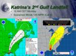 katrina s 2 nd gulf landfall