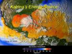 katrina s energy source