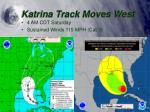 katrina track moves west2