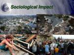 sociological impact