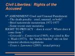 civil liberties rights of the accused1