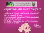 informaci n sobre belfast