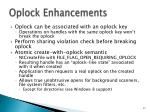 oplock enhancements1
