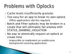 problems with oplocks