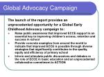 global advocacy campaign