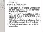 case study state v darren butler