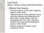 case study state v susan creecy and david horton2