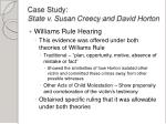 case study state v susan creecy and david horton3