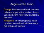 angels at the tomb