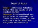 death of judas