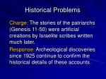 historical problems1