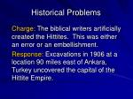 historical problems2