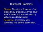 historical problems3