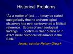 historical problems4