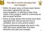 the cbd is not the only place that has changed