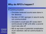 why do rfo s happen1