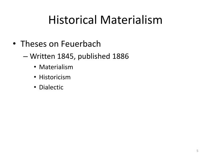 materialism thesis Materialism gives prime importance to matter whereas the reality is what our mind tells us is the idealism and materialism are two important theories or rather groupings of theories that are used to.