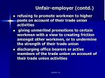 unfair employer contd1