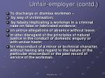 unfair employer contd2