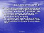 unfair employer contd3