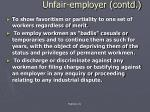 unfair employer contd4