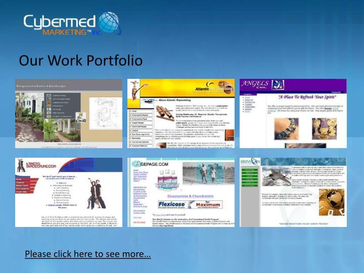 Our Work Portfolio