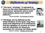 definitions of strategy