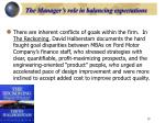 the manager s role in balancing expectations1