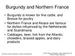 burgundy and northern france
