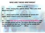 who are these brethren2