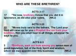 who are these brethren3