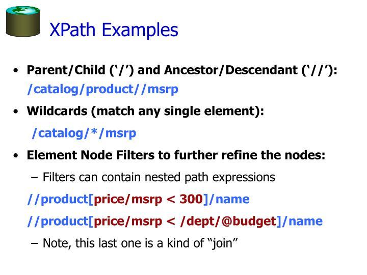 XPath Examples