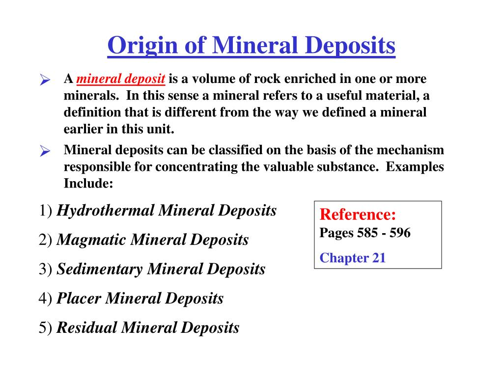 Minerals resources india.