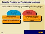 computer programs and programming languages4
