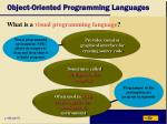 object oriented programming languages16