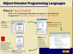 object oriented programming languages17