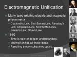 electromagnetic unification1